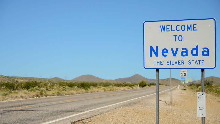 California Nevada State Border | Shutterstock HD Video #4863539