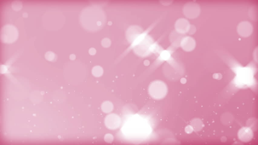 moving gloss particles on pink background loop slow