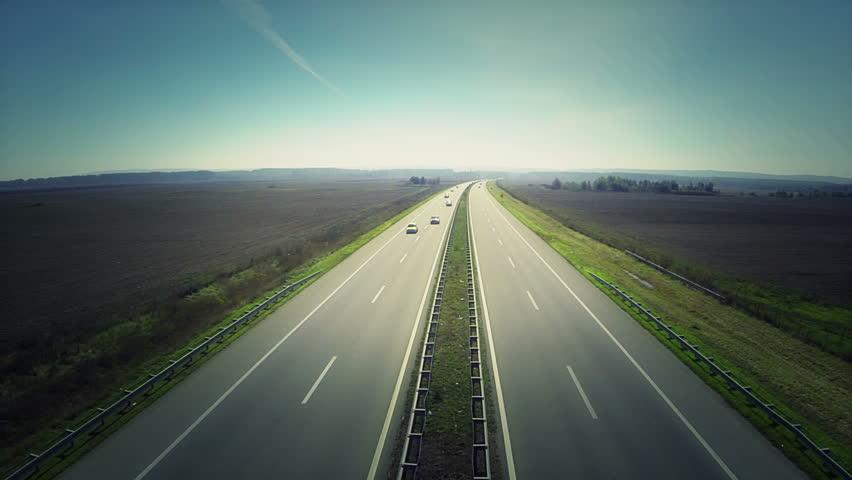 Highway Loop Stock Footage Video 5566754 - Shutterstock