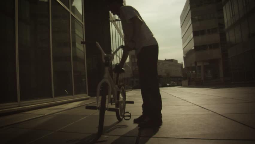 BMX: Pedal Spinning