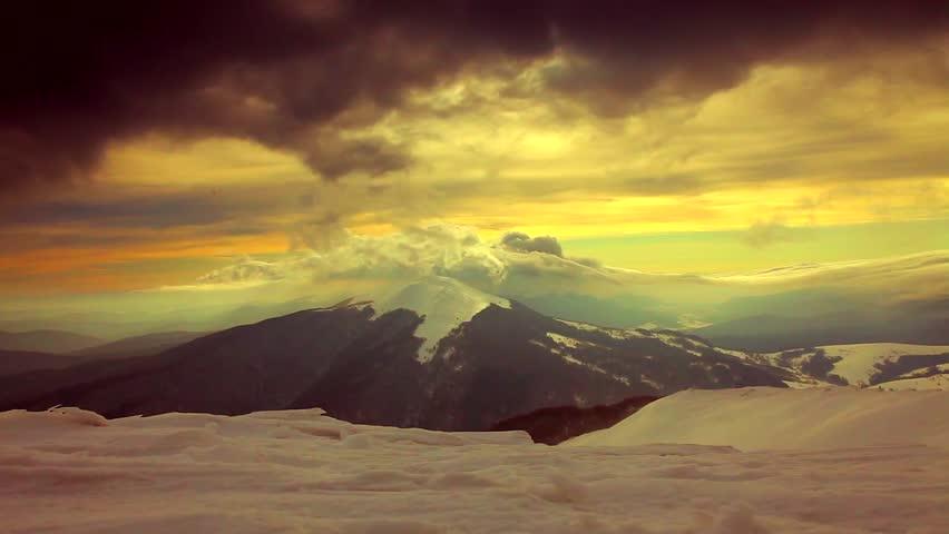 mountain landscape. sunset. #4989143