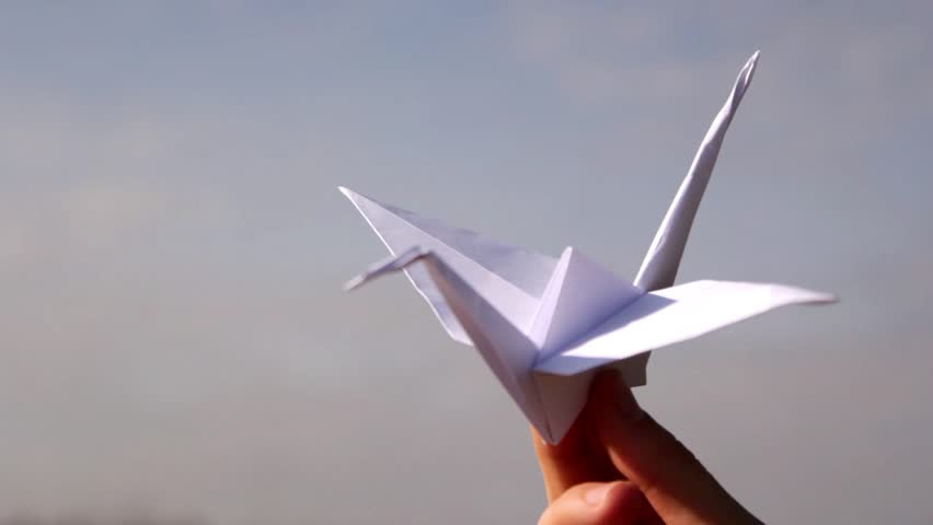 Origami, the art of origami - HD stock footage clip