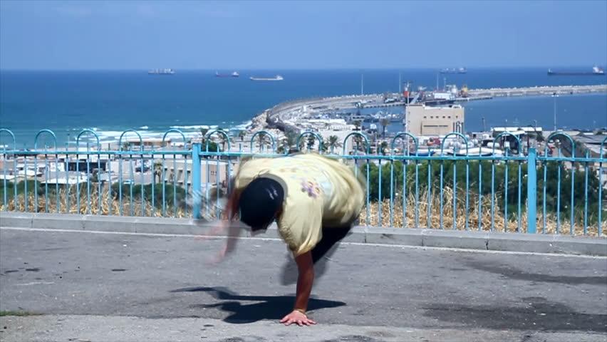 Beautiful Hip Hop Dance on the Street