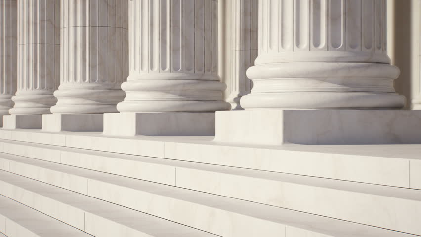 Marble Columns. Loopable  View on column foot.  | Shutterstock HD Video #5071826