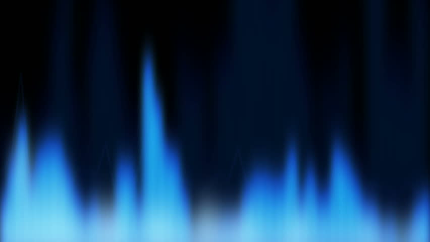Computer Generated Blue Fire Stock Footage Video 840484 Shutterstock