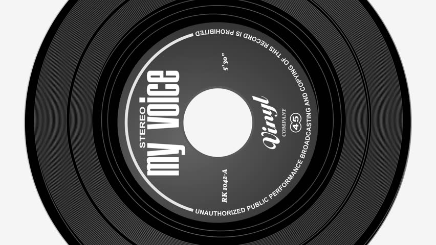 Rotating Vinyl
