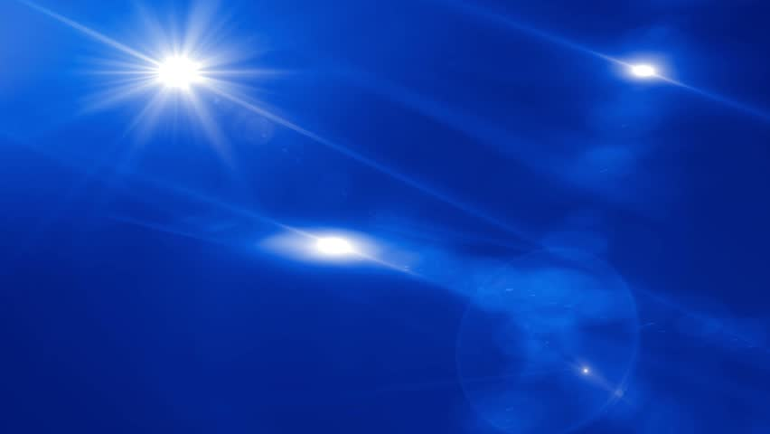 Blue Lens Flare Abstract Background | Shutterstock HD Video #5087738