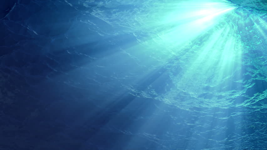 High quality Looping animation of ocean waves from underwater with floating plankton. Light rays shining through. Great popular marine Background. (seamless loop, HD, high definition 1080p) | Shutterstock HD Video #5117402