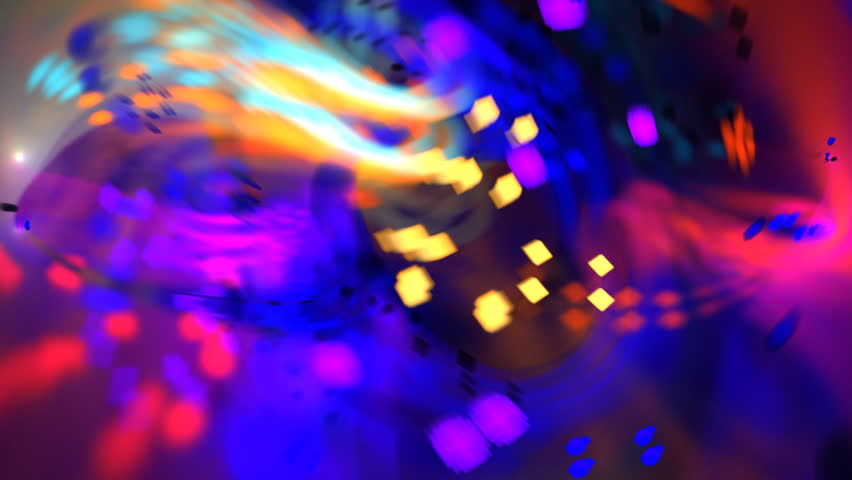 Abstract bold multicolored chaotic particle texture motion background seamless looping fractal | Shutterstock HD Video #5134664