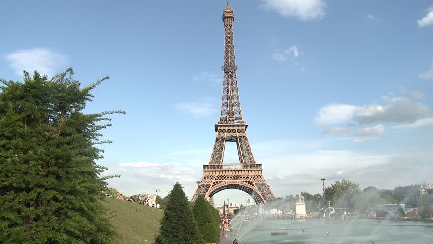 PARIS, FRANCE - 2010: Eiffel Tower | Shutterstock HD Video #5135114