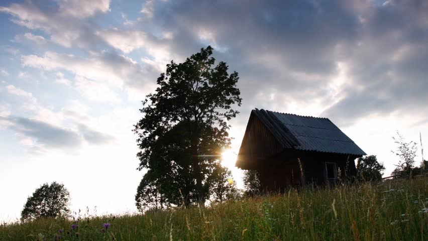 The movement of clouds high in the Carpathian Mountains (Timelapse) | Shutterstock HD Video #5139263