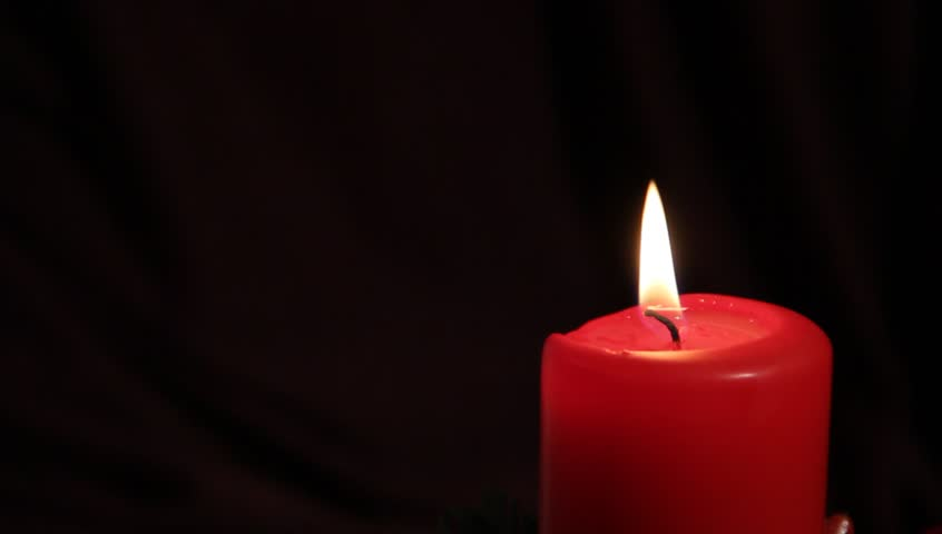 red candle black background - photo #6