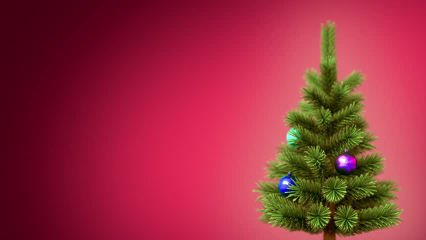 Christmas tree background, seamless looped 3d animation. see more Christmas backgrounds in my portfolio.     Shutterstock HD Video #5202911