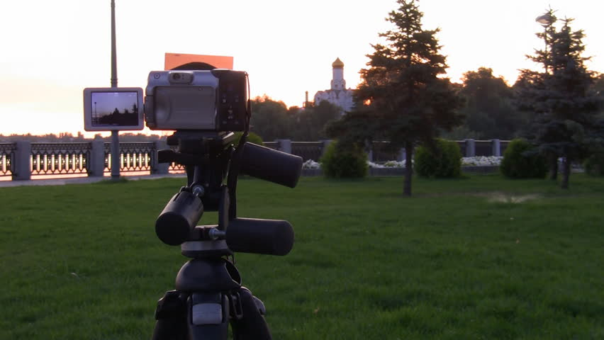 Time Lapse. Digital camera shooting for scenery.  - HD stock footage clip