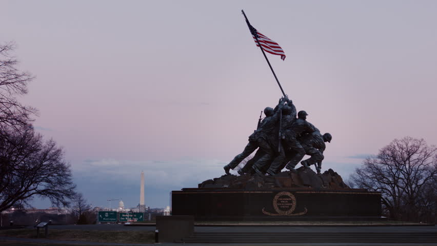 The Marine Corps War Memorial