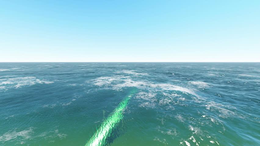 Oil pipeline underwater stock footage video