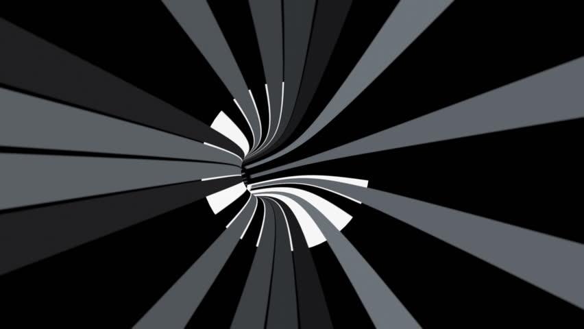 Binary data tunnel animation | Shutterstock HD Video #5391695