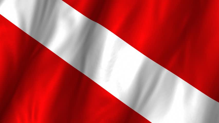 Scuba diving flag