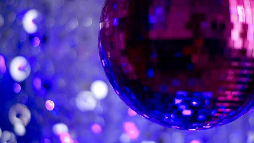 Funky pink mirror ball spinning with patterns of light. useful for vj loops, events, clubs and parties  | Shutterstock HD Video #5502944