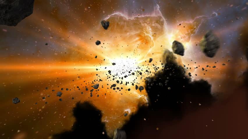 Birth of galaxies | Shutterstock HD Video #5531051