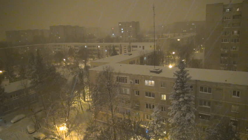 Snowing in Nigh...