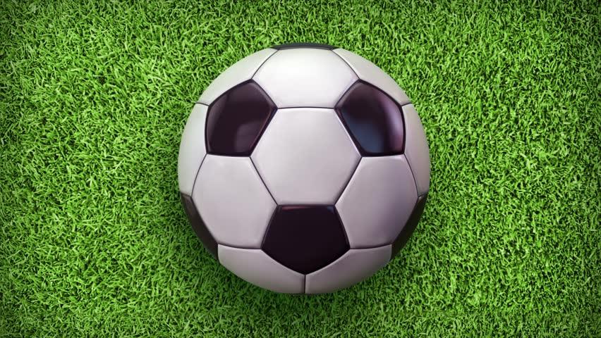 Football World. Soccer video animation. - HD stock video clip