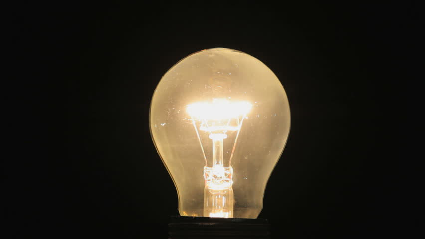 Lightbulb on and off | Shutterstock HD Video #5647295
