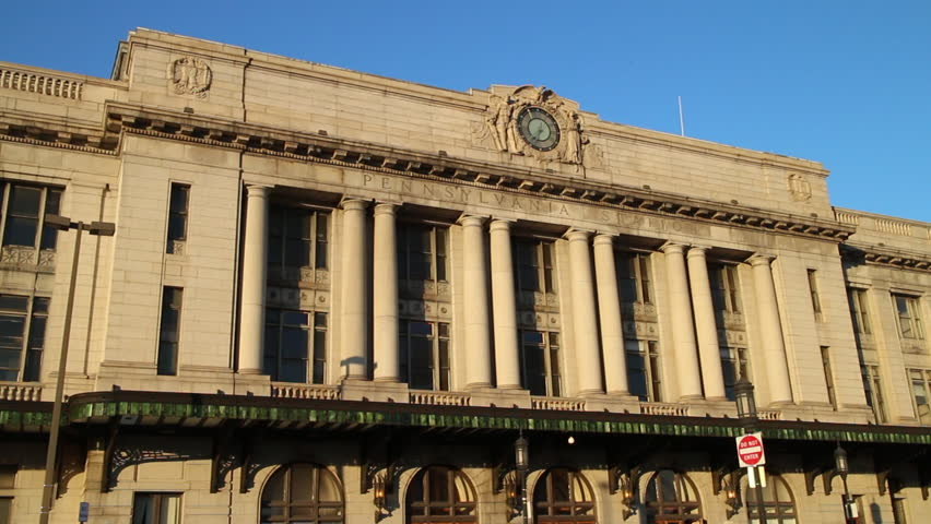 Baltimore, Maryland - March, 2013 - Pennsylvania Station, previous known as Union Station, located at North Charles Street.