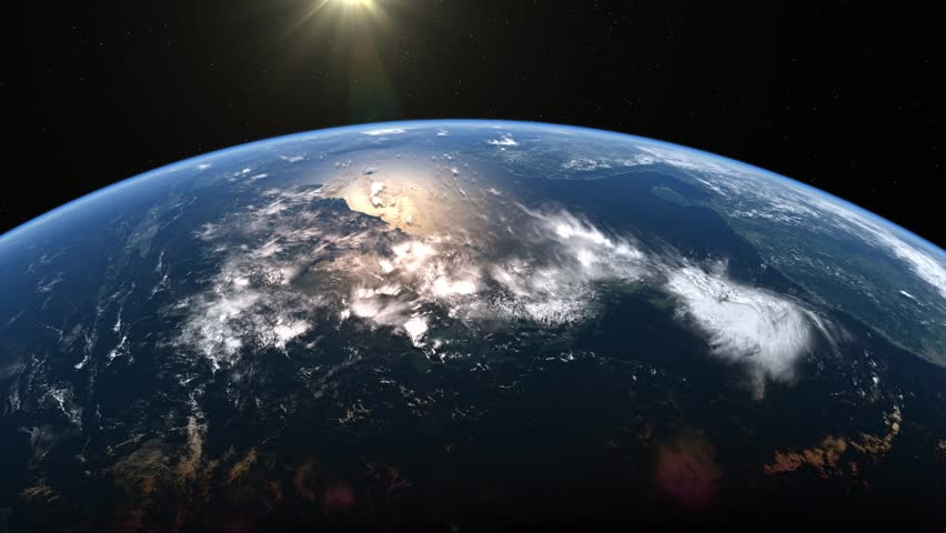 Stationary orbit over East Asia. | Shutterstock HD Video #5696075
