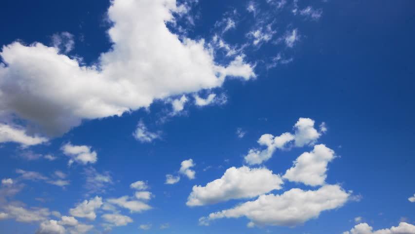clear sky - HD stock video clip