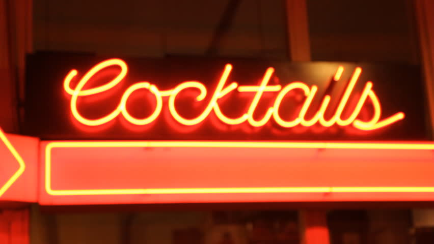 Cocktails.  