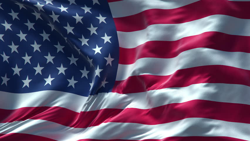 Free Loops - United States Flag - Download Royalty Free Video Loops