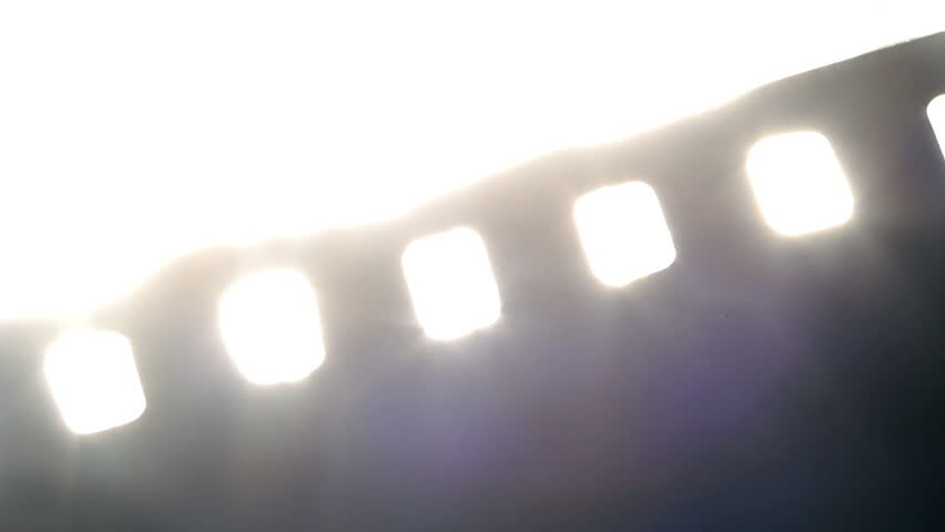 Melting Film Projection Stock Footage Video 2162456 ...