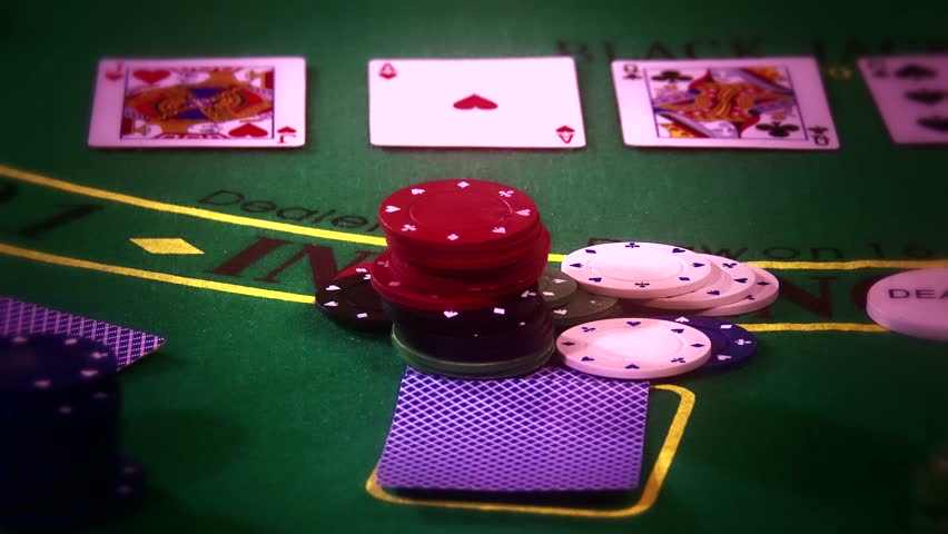4K Poker Table Casino Gambling Game Setup with Professional Camera Dolly Motion 4K 3840 x 2160 ultra high definition UHD footage | Shutterstock HD Video #5849930