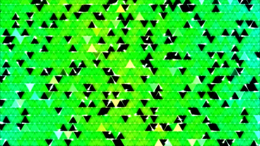 Colorful Triangle Background Animation - Green #5982779
