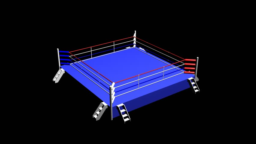 Boxing Ring - HD stock footage clip