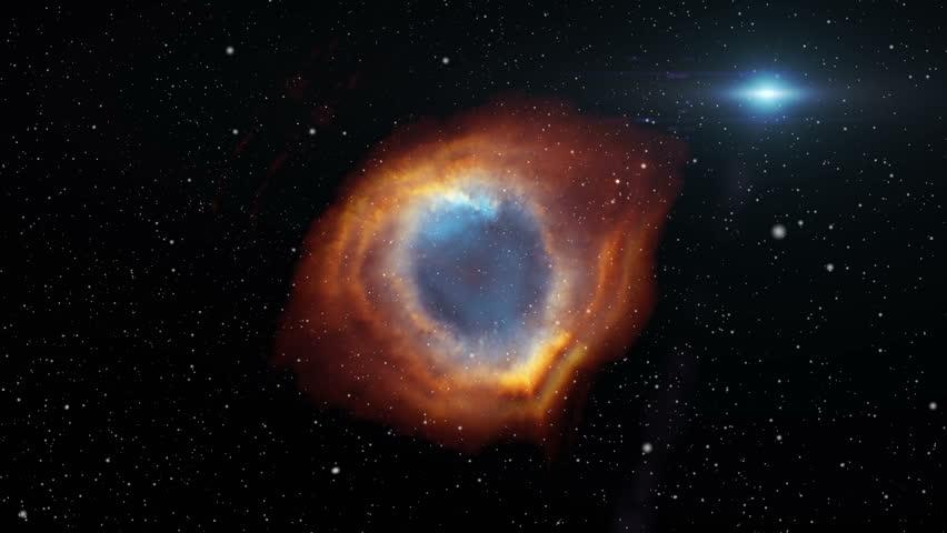 Helix Nebula fly through