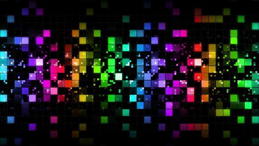 Square Cell Grid Light Background. Stock Footage Video ...