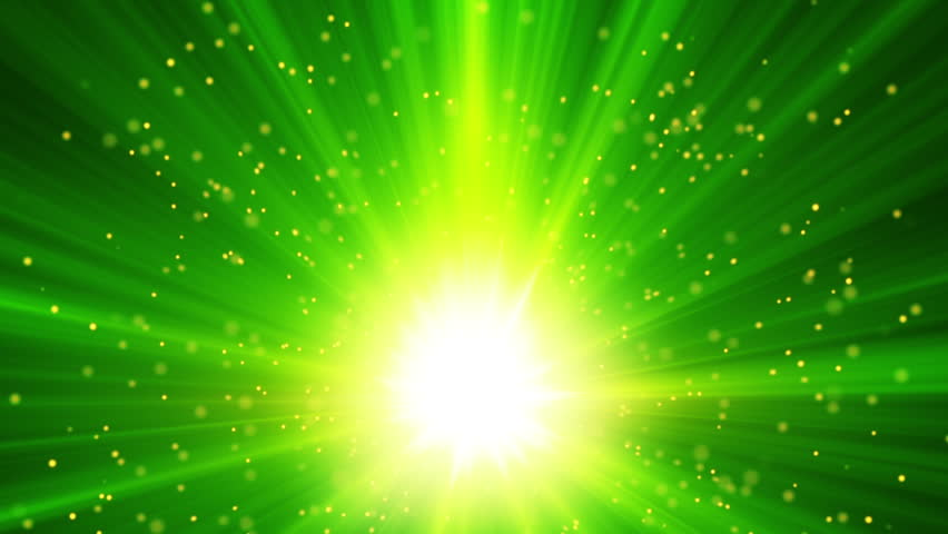Green Light Effects Stock Footage Video: Magic Fairy Dust Background Stock Footage Video 9951470