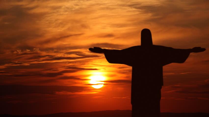 RIO DE JANEIRO, BRAZIL - MARCH 1, 2014 Corcovado Mountain ...