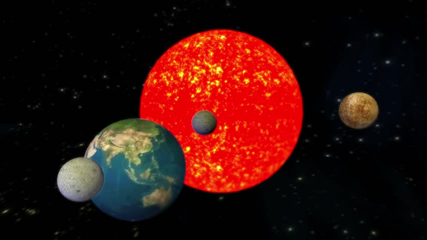 The solar system planets Universe,Planets orbiting the sun. cg_01078