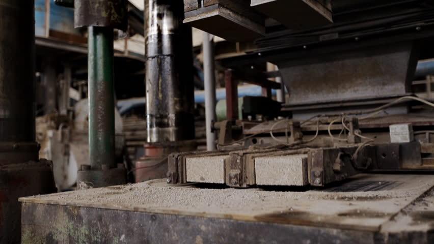 Press firebrick - HD stock footage clip