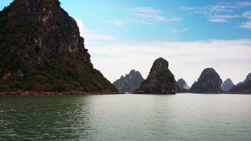 Vietnam Nature Video Bay Vietnam Uhd 4k Video