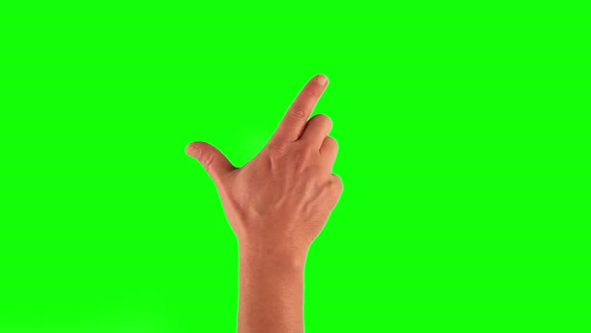 Set of 7 hand gestures, showing the uses of computer touchscreen, tablet or trackpad. Full HD with green screen. modern technology, 1080p, 1920x1080 | Shutterstock HD Video #6308624