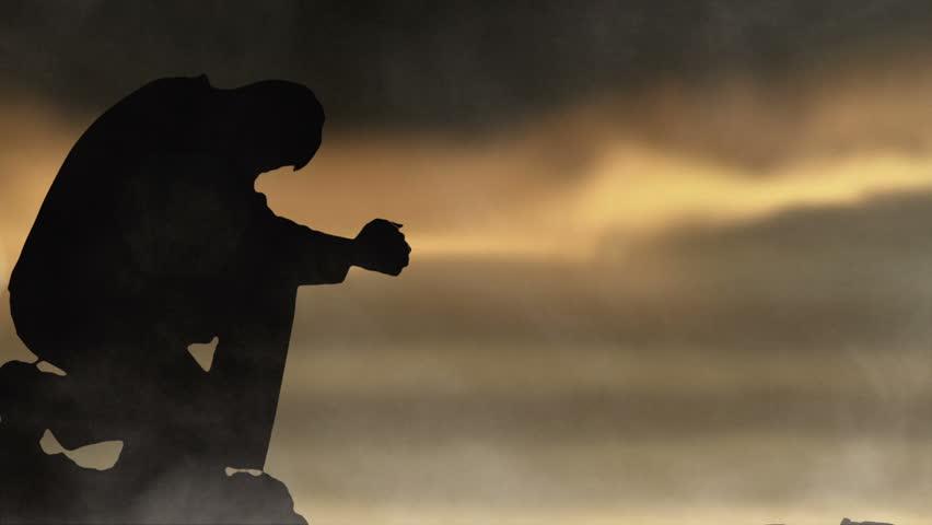 Man prays to Sky