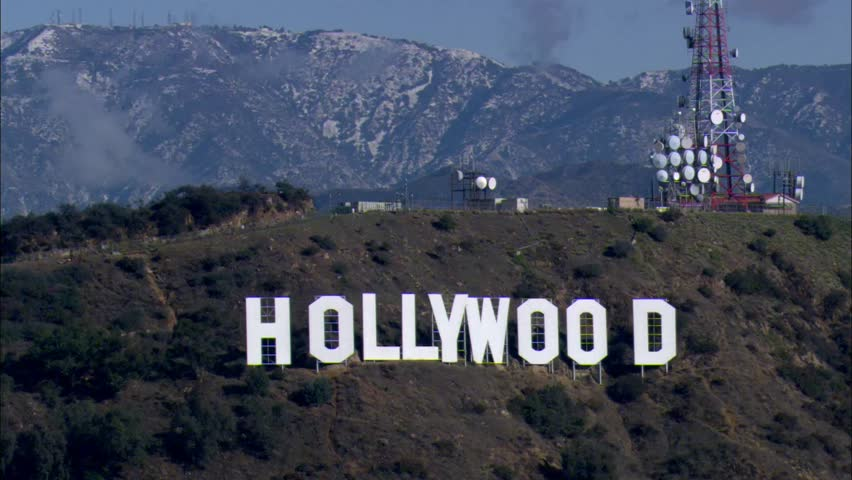 Hollywood Sign Stock Footage Video - Shutterstock  Hollywood Sign ...