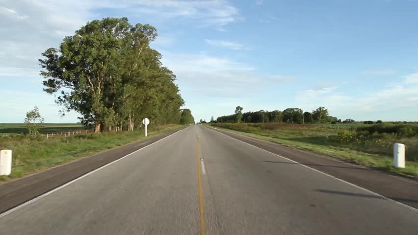 Cars on highway - HD stock footage clip