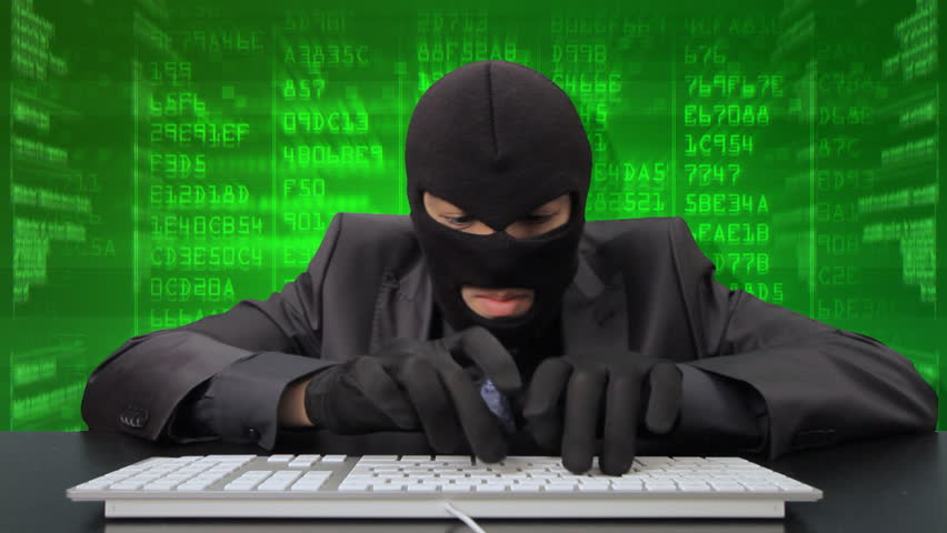 Computer hacker stealing money