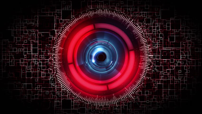 robot eye stock footage video shutterstock