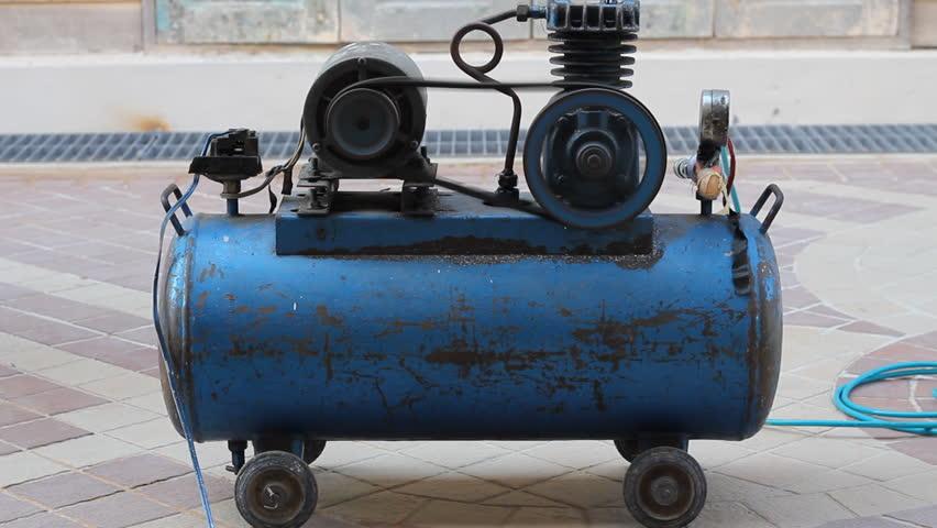 Header of air compressor